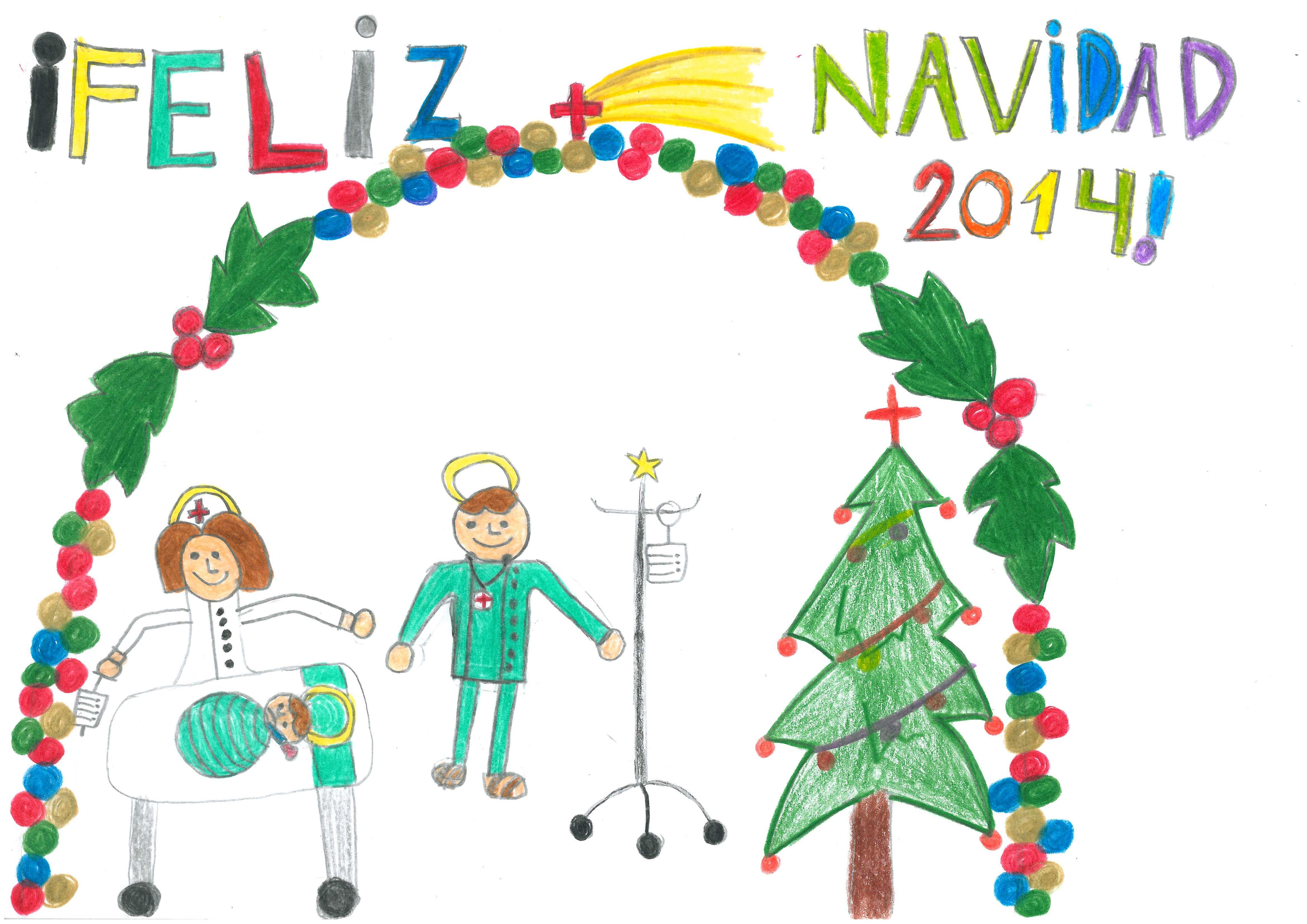 Dibujos De Navidad Hechos Por Ninos.Puesta En Marcha De La Octava Edicion Del Concurso De Dibujo