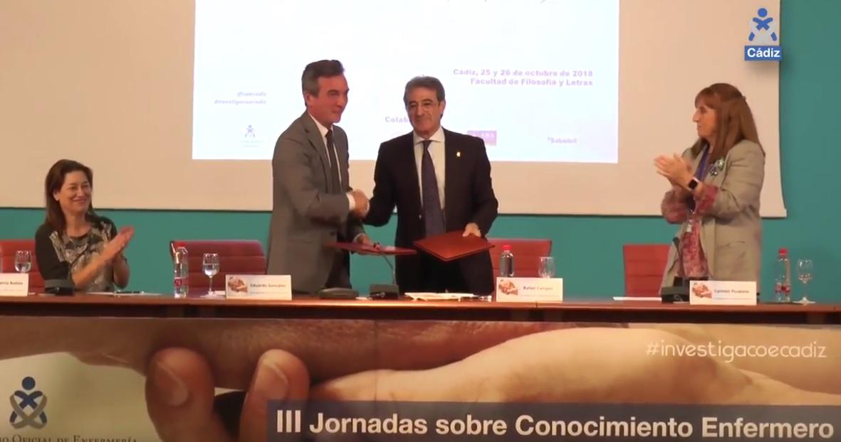 Video - El Colegio de Enfermería de Cádiz y la UCA